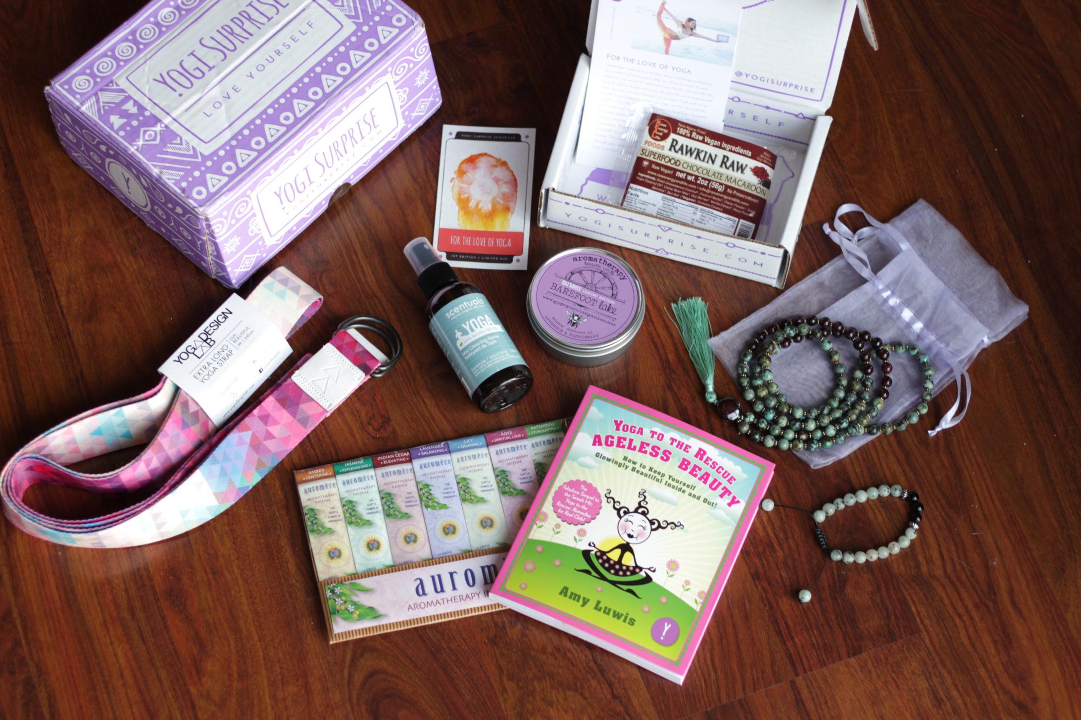 September Yogi Surprise Box Love Of Yoga